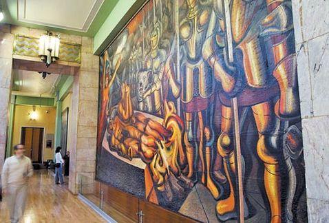 Los Murales Del Museo De Bellas Artes