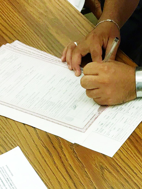 Matrimonio Registro Civil : Registro civil municipalidad de lince